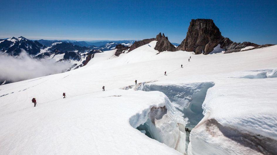 雪的示意圖,非挪威斯瓦爾巴特群島。